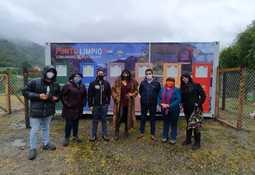 Comunidad de Puyuhuapi inaugura punto limpio con apoyo de salmonicultora