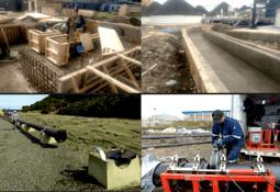 Holding chileno reutiliza tuberías de HDPE ocupadas por la salmonicultura