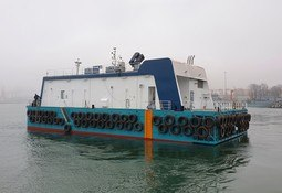 Feed barge heads to Spain from Polish shipyard