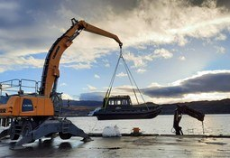 Island to island: Skye salmon farmer's second vessel from Arran boatbuilder