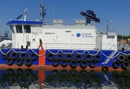 Loch Duart orders Scotland's first hybrid feed barge