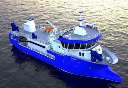 Kløverlaks AS har kontrahert prosessbåt fra Fitjar Mek. Verksted