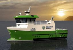Ocean Farm Services bestiller ny arbeidsbåt fra Skagen Ship Consulting
