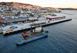 Sjøentreprenøren utbedrer Harstad havn
