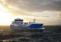 Así será el moderno wellboat híbrido de Intership que llegaría a Chile