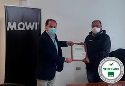Mowi Chile es la primera empresa de Aysén en recibir Sello prevención del Covid