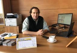 Badinotti potenciará Magallanes construyendo taller para mantención de redes