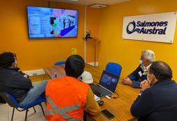 Gobernador de Chiloé destaca medidas sanitarias aplicadas en planta de Salmones Austral