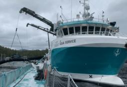 New delousing vessel starts work for Cermaq Canada