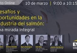 EY y Consejo del Salmón analizarán desafíos y oportunidades de la salmonicultura