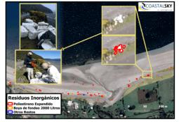 Chilenos crean tecnología para detectar residuos salmonicultores en playas