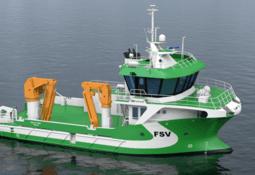 Service boat operator orders third hybrid vessel