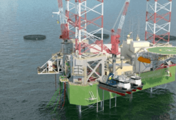 Avanza proyecto de plataforma petrolífera para jaulas sumergibles de salmón
