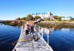 13 jóvenes ayseninos logran certificarse como pilotos ROV para salmonicultura