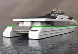 Bygger verdens første  helelektriske hurtigbåt