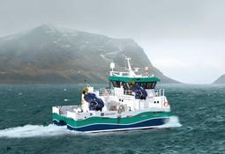 Skotske Inverlussa med første innkjøp av hybridkatamaran