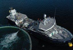 - En dedikert smoltbåt sikrer bedre biosikkerhet for smolten vår