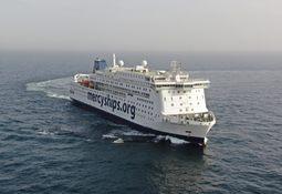 Sjøtesten bestått for verdens største sivile sykehusskip