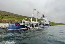 Ny avluser på brønnbåten MS Martin