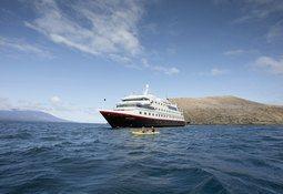 Hurtigruten satser på Galapagos