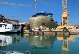 El nuevo wellboat más grande del mundo está pronto a ser terminado para operar