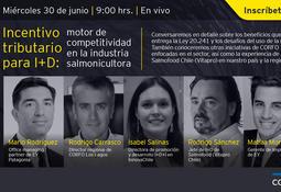 """EY y Corfo presentan: """"Incentivo tributario para I+D: motor de competitividad en la salmonicultura"""""""