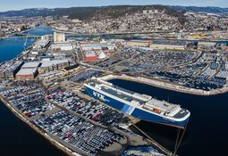 All time high for Drammen havn