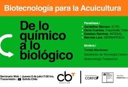 Sofofa HUB invita al encuentro digital Biotecnología para la acuicultura