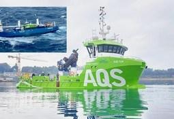Bautizarán barco salmonicultor que soportó naufragio provocado por tormenta