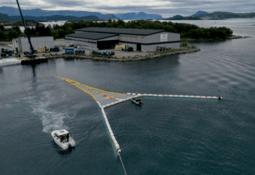 Proveedor acuícola presenta sistema para reducir contaminación plástica en el mar