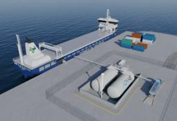 Nytt selskap vil levere bunkringsterminaler for ammoniakk