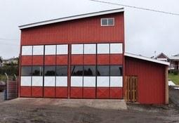 Salmonicultores apoyan construcción de nuevo cuartel de bomberos