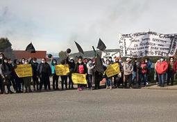 Trabajadores de planta Quemchi de Cermaq Chile inician huelga legal
