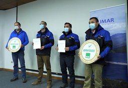 Salmones Blumar obtiene reconocimientos en ámbitos de salud y seguridad operacional