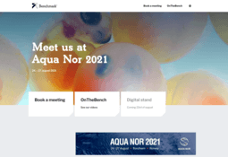 Benchmark ® boosts presence at Aqua Nor 2021