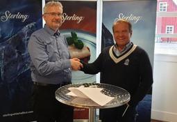 Kveiteoppdretter signerer kontrakt med Aller Aqua
