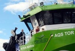 Servicefartøyet «Tor» er nå døpt - flere hundre møtte opp på Skansen