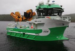 Sletta Verft leverte nytt servicefartøy