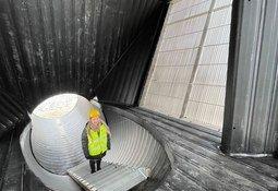 Proyecto para 19.000 toneladas de salmón en tierra completa nuevo avance
