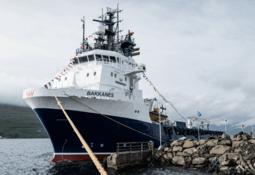 SSC delousing vessel gets fine-tuned in the Faroes
