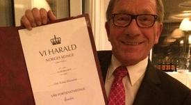 Oppdrettspionér fikk Kongens fortjenstmedalje