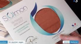 """Nuevo salmón """"vegano"""" en el mercado francés"""