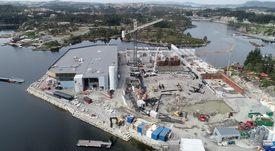 Bygger et av verdens største landbaserte settefiskanlegg