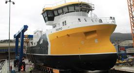 Prosessbåten «Taupo» snart klar til dyst