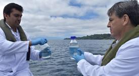 USS busca conocer la salud del Lago Llanquihue