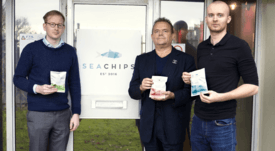 Salmon-skin crisps sell out after Dragons' Den pitch