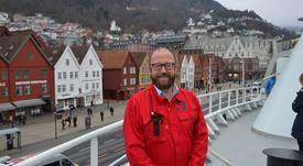 Fikk vite om avslaget dagen før dåpen av «Norwegian Gannet»