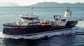 The wellboat tailor-made for shallower Scottish waters