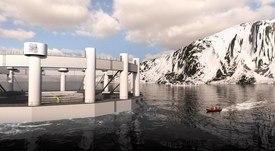 Así avanza la construcción del Concepto Arctic Offshore Farming
