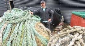 Así se reciclan los residuos de la industria salmonicultora de Aysén